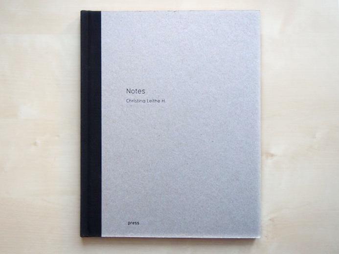 Christina Leithe Hansens første bok «Notes» er fjorårets bestselger i Fotogalleriets bokhandel.