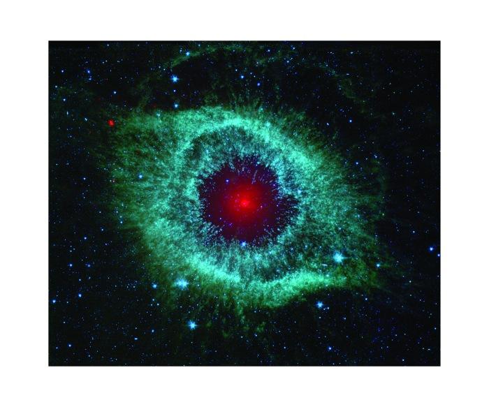 Helixtåken ligger 700 lysår fra jorden og er et yndet subjekt for astrofotografer. Dette bildet er laget av Hubble-teleskopet i 2007.