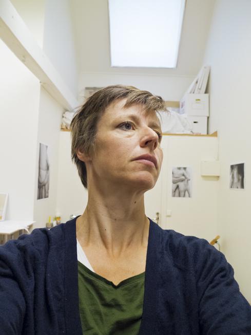 Bokaktuelle Verena Winkelmann har utforsket farsrollen gjennom fotografi.