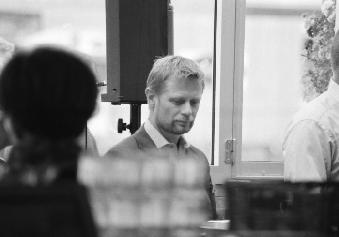 Mikkel McAlinden - Helse- og omsorgsminister Bent Høie  2014 (13 x 20 cm)
