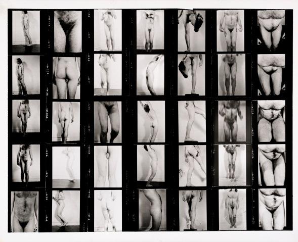 John Coplans, Conversions II, 1971. Tilhører Preus museums samling.