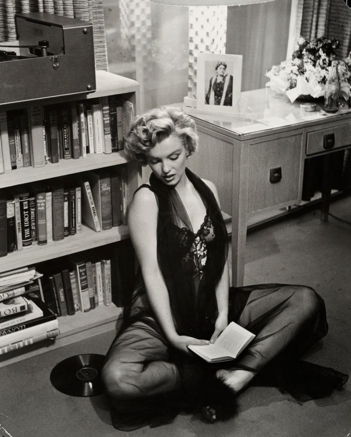 Philippe Halsman, Marilyn Monroe, Los Angeles, 1952. Tilhører Preus museums samling.