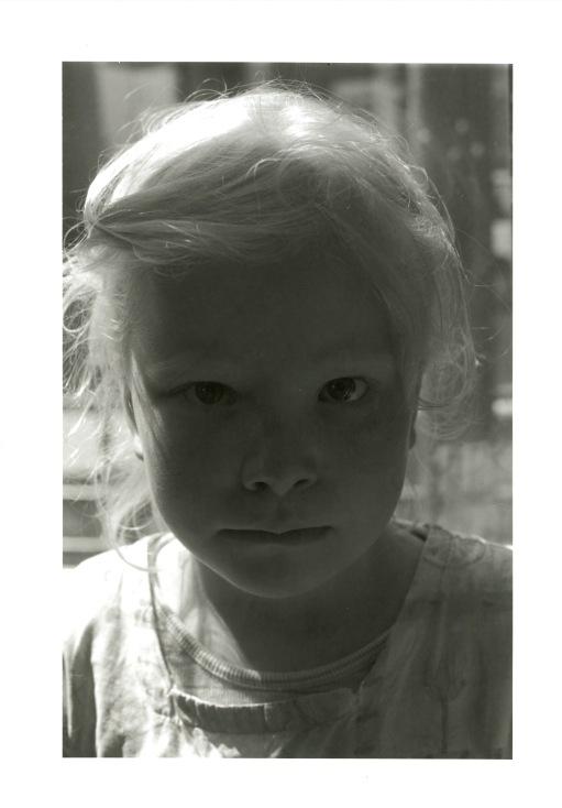 Tom Sandberg, Portrett Maria, 2002. Tilhører Preus museums samling.