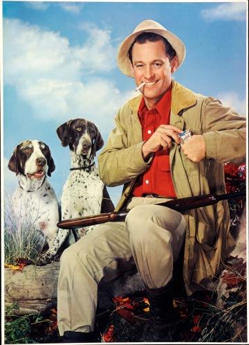 Paul Hesse, Reklamefoto for Chesterfield sigaretter, ca 1950 - 1960. Tilhører Preus museums samling.