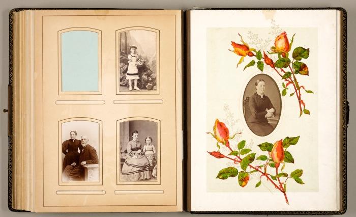 Ukjent fotograf, The Rosebud Album, ca 1860 – 1880. Tilhører Preus museums samling.