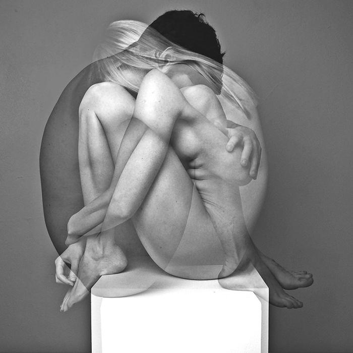 Emeric Salimon, bilde fra bokprosjekt. Deltar i utstillingen med video.