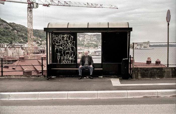 """Kim Nilsen, fra prosjektet """"No Exit / Huis Clos"""" som vises på Noplace."""