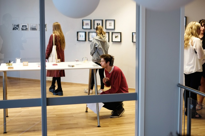 Fra studentutstilling på Oslo Fotokunstskole
