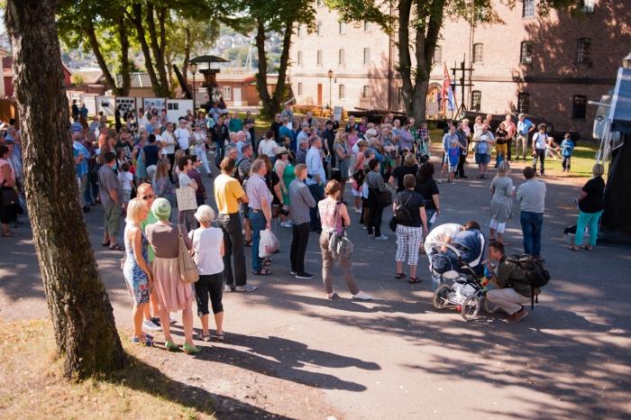 Fotografiets dag på Karljohansvern i Horten. Foto: Andreas Harvik/Preus museum