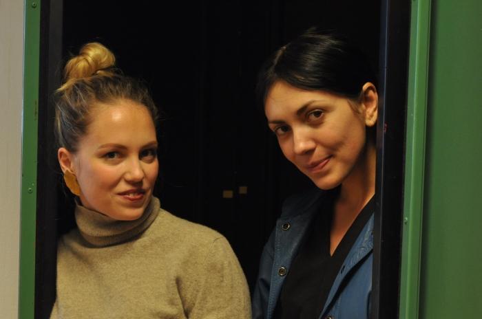 Lesia Vasylchenko og Andrea Sand Gustavson fra Oslo Fotokunstskoles første år starter filmklubb.