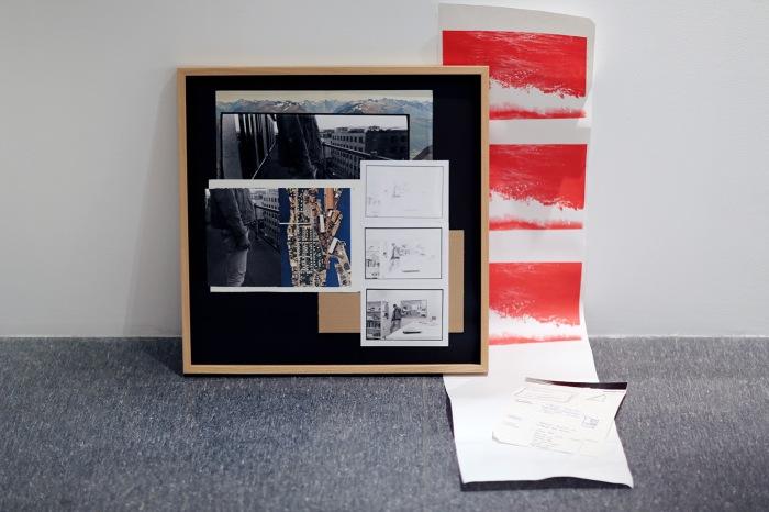 Eskil Bast, fra utstillingen «NÅ SOM» på GalleriNeuf.