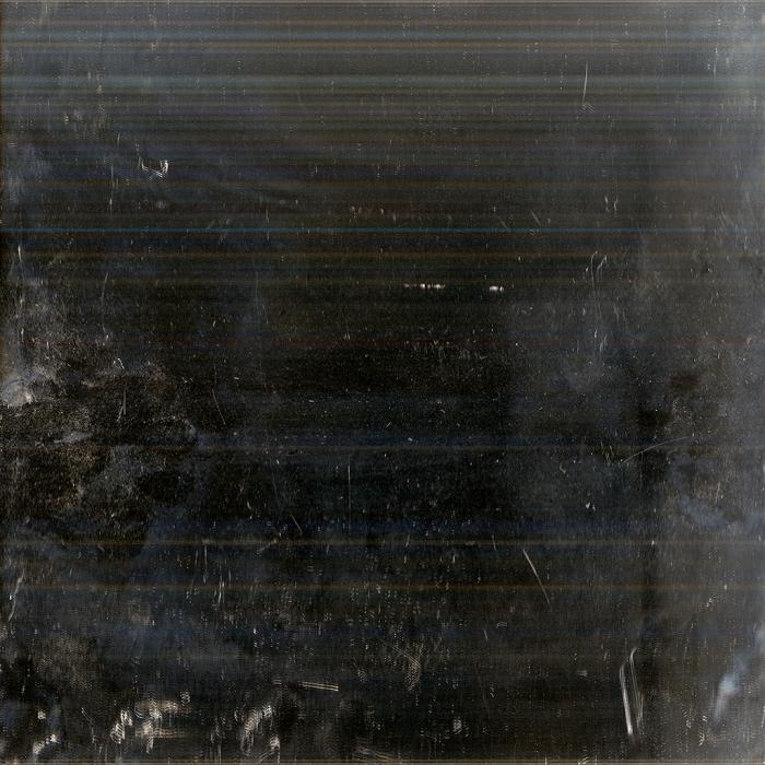 Andrea Grundt Johns, Overflatens mikroskopiske topografi (mirror scan) #5, fra utstillingen i Göteborg konstförening. Inkjet print på aluminium, 1x1m.