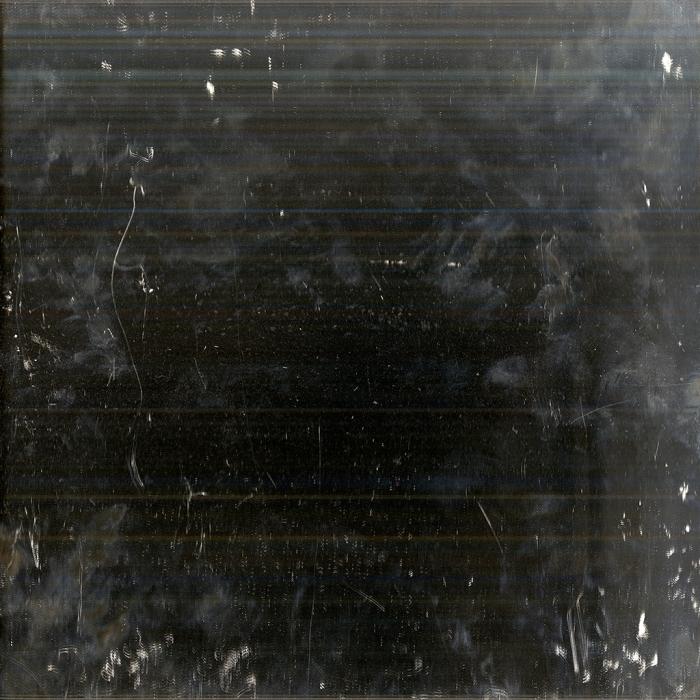 Andrea Grundt Johns, Overflatens mikroskopiske topografi (mirror scan) #7, fra utstillingen i Göteborg konstförening. Inkjet print på aluminium, 1x1m.