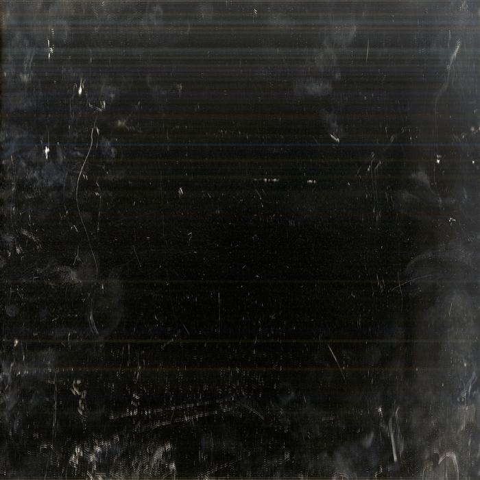 Andrea Grundt Johns, Overflatens mikroskopiske topografi (mirror scan) #8, fra utstillingen i Göteborg konstförening. Inkjet print på aluminium, 1x1m.