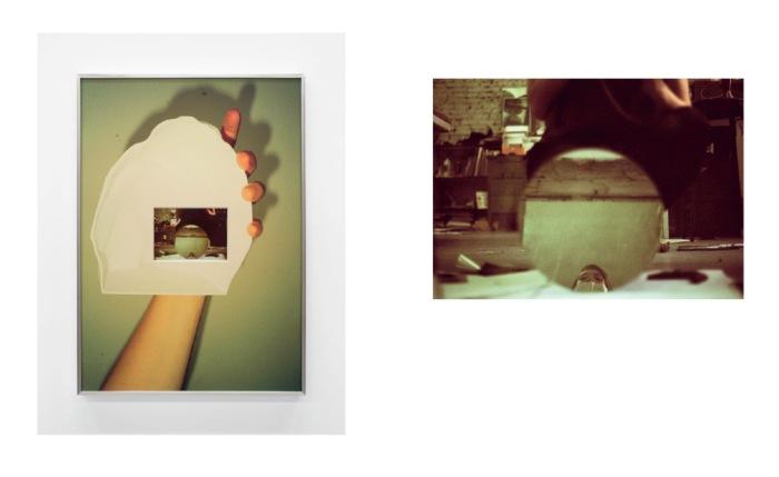 Oppslag fra utgaven Åsne jobbet med, blant annet ved å innhente bilder fra kunstner Lydia Davis.