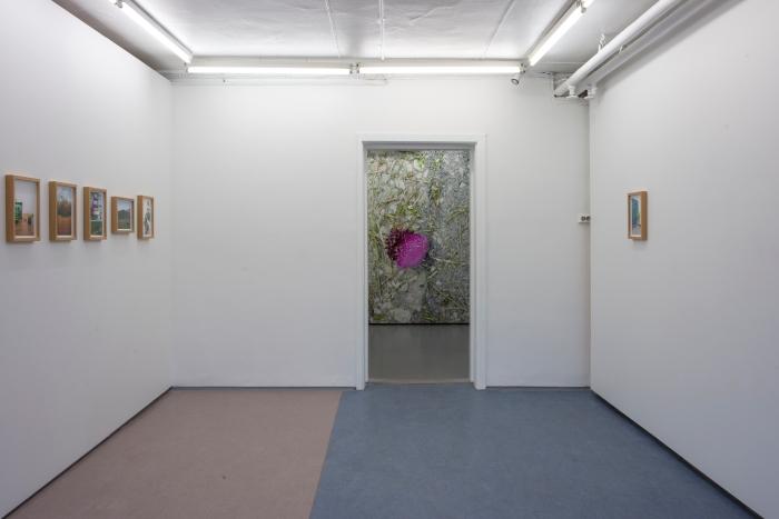 Fra utstillingen Øvelser i norsk av Hilde Honerud på Tenthaus.