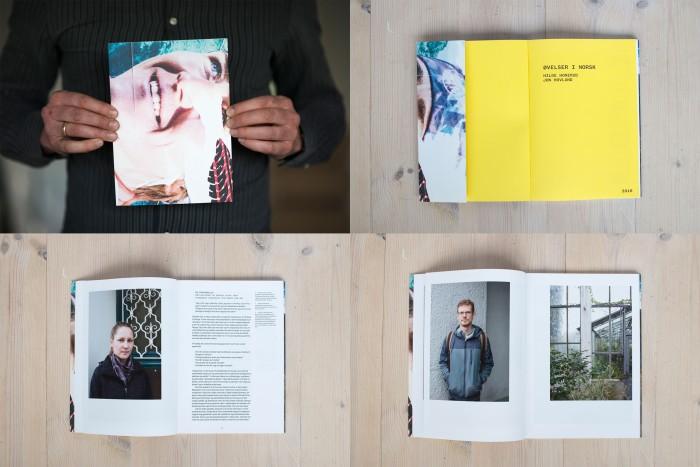 I forbindelse med utstillingen utgis boken Øvelser i norsk på Crossing Forlag.