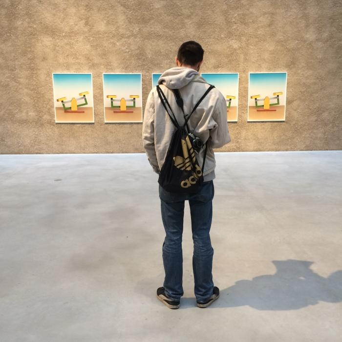Fra utstilling med Annette Kelm på König Galerie.