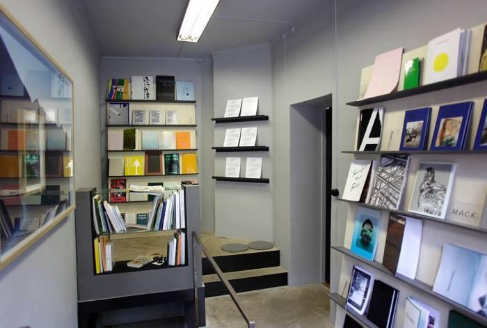 Fra bokhandelen MELK books i samme lokale.