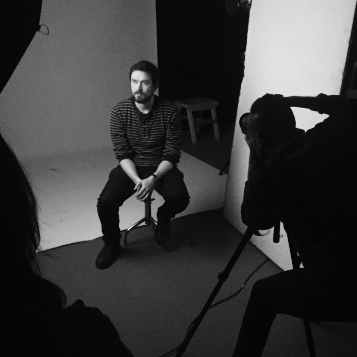 Fotografering i studio er del av pensum i teknikkundervisningen på Oslo Fotokunstskole.