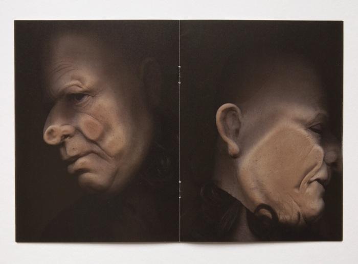 Paneldeltaker, kunstner og forfatter Vibeke Tandberg, her fra publikasjonen Old Man (Angle 10°) fra 2015.