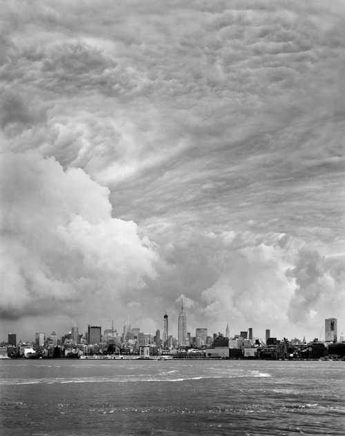 Mitch Epstein - Cloud #33, 2014 from the series Rocks and Clouds, 68 x 54 inch, Gelatin silver print. (C) Mitch Epstein, Courtesy of the Artist and Yancey Richardson Gallery