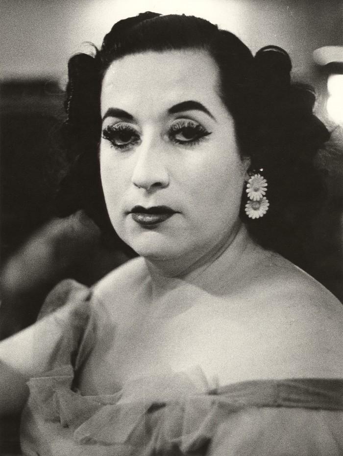 Christer Strömholm, Den hvite damen Barcelona 1959, 1959. Foto: Nasjonalmuseet